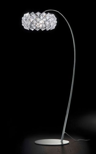 separation shoes c6ac1 7c290 Floor standing lamp / original design / crystal / arched ...