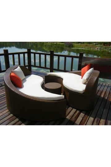 Ying Yang Set Brown By Patio Heaven, Nordstrom Rack Outdoor Furniture