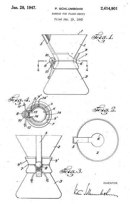 Chemex Coffeemaker Peter Schlumbohm July 10 1896 1962