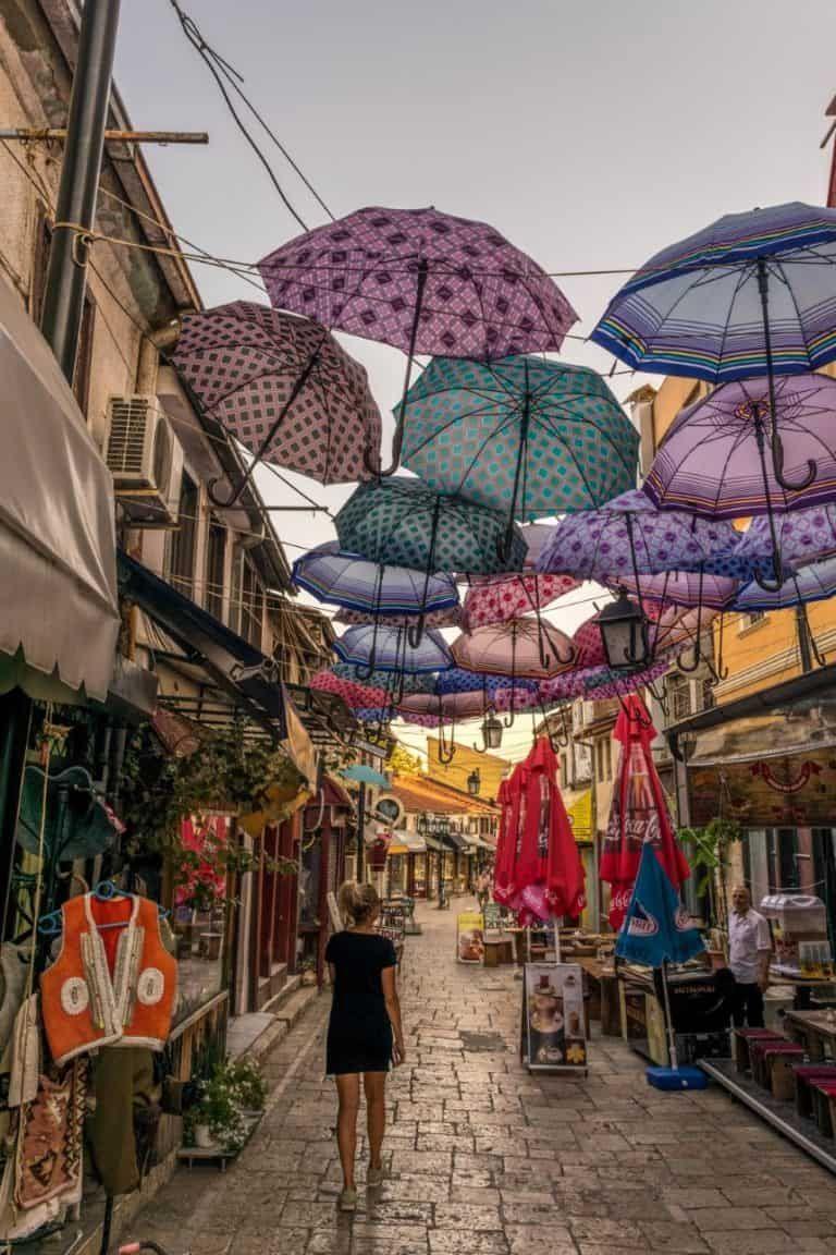 Oude Bazaar Skopje Macedonie Vakantie Reistips