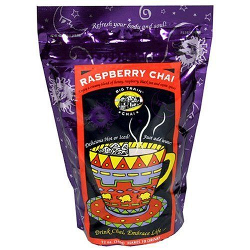 Big Train Chai - Raspberry Chai- 12 oz Resealable bag Big Train http://www.amazon.com/dp/B000BBDZ8W/ref=cm_sw_r_pi_dp_O819tb07XWS37