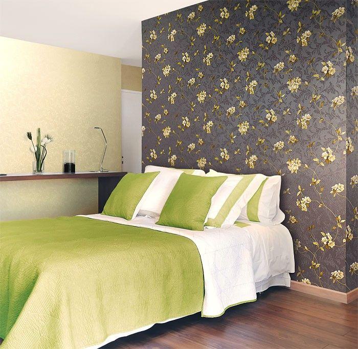 Wallpaper wall floral EDEM 761-25 luxury embossed flowers light ...