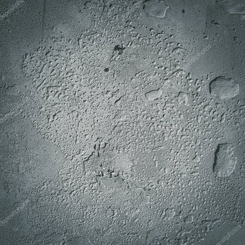 Urban concrete wall background with grooves and bubbles. Cement - Stock P ,