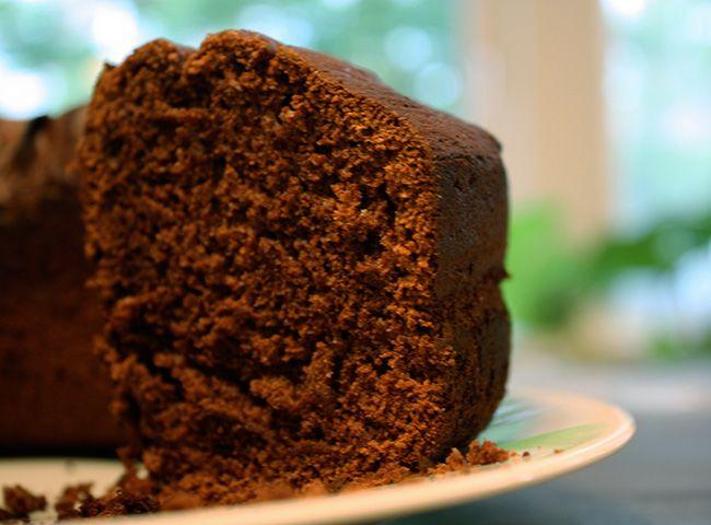 Bolo De Chocolate Simples Receita Com Imagens Bolo De