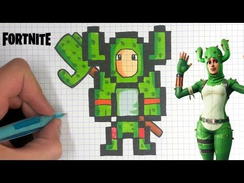 Chadessin Pixel Art Fortnite Youtube Dessin Pixel Pixel