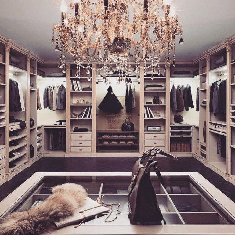 10 Walk in Closet Ideen für Ihr Schlafzimmer - Dekoration ideen