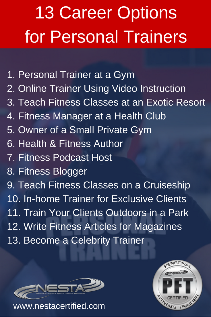 Fitness And Personal Trainer Certifications Personal Training