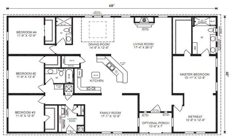 44 best House plans-modular images on Pinterest | House floor ...