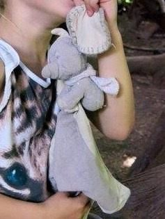 Lost on 18/02/2015 @ Paddington Station. Nelly is very well loved and is wearing a knitted cream scarf. We would love to get him home. We went from Kemble Station Glos, Via Swindon to Paddington Station on 18/02/15 Visit: https://whiteboomerang.com/lostteddy/msg/d5ej6h (Posted by Nelly on 19/02/2015)