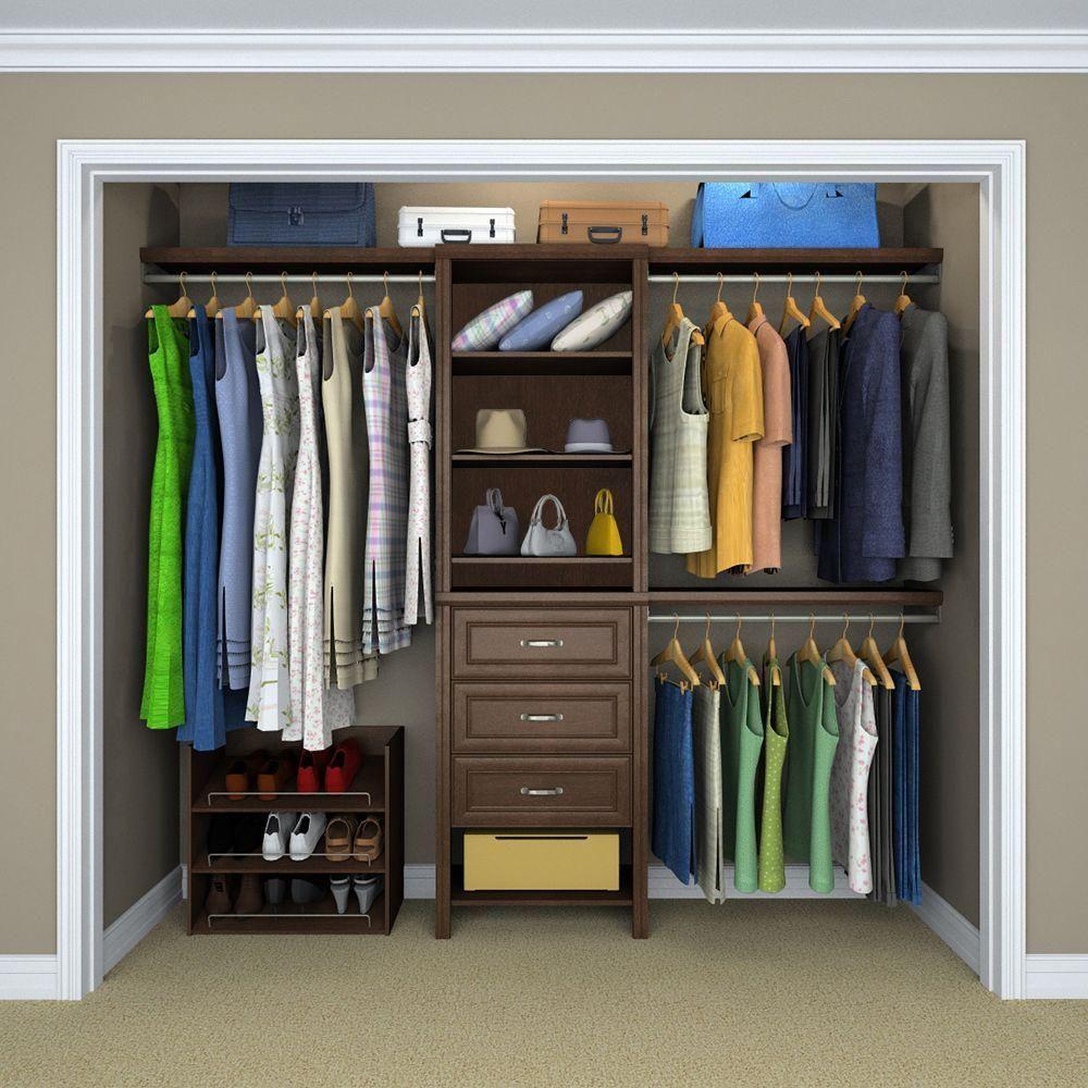Chocolate (Brown) Premium Closet System