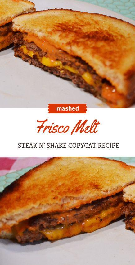Copycat Steak 'n Shake Frisco Melt you know you wa