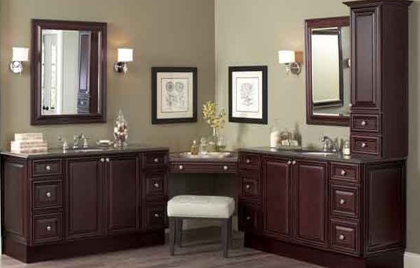 L Shape Double Sink With Vanity With Images L Shaped Bathroom