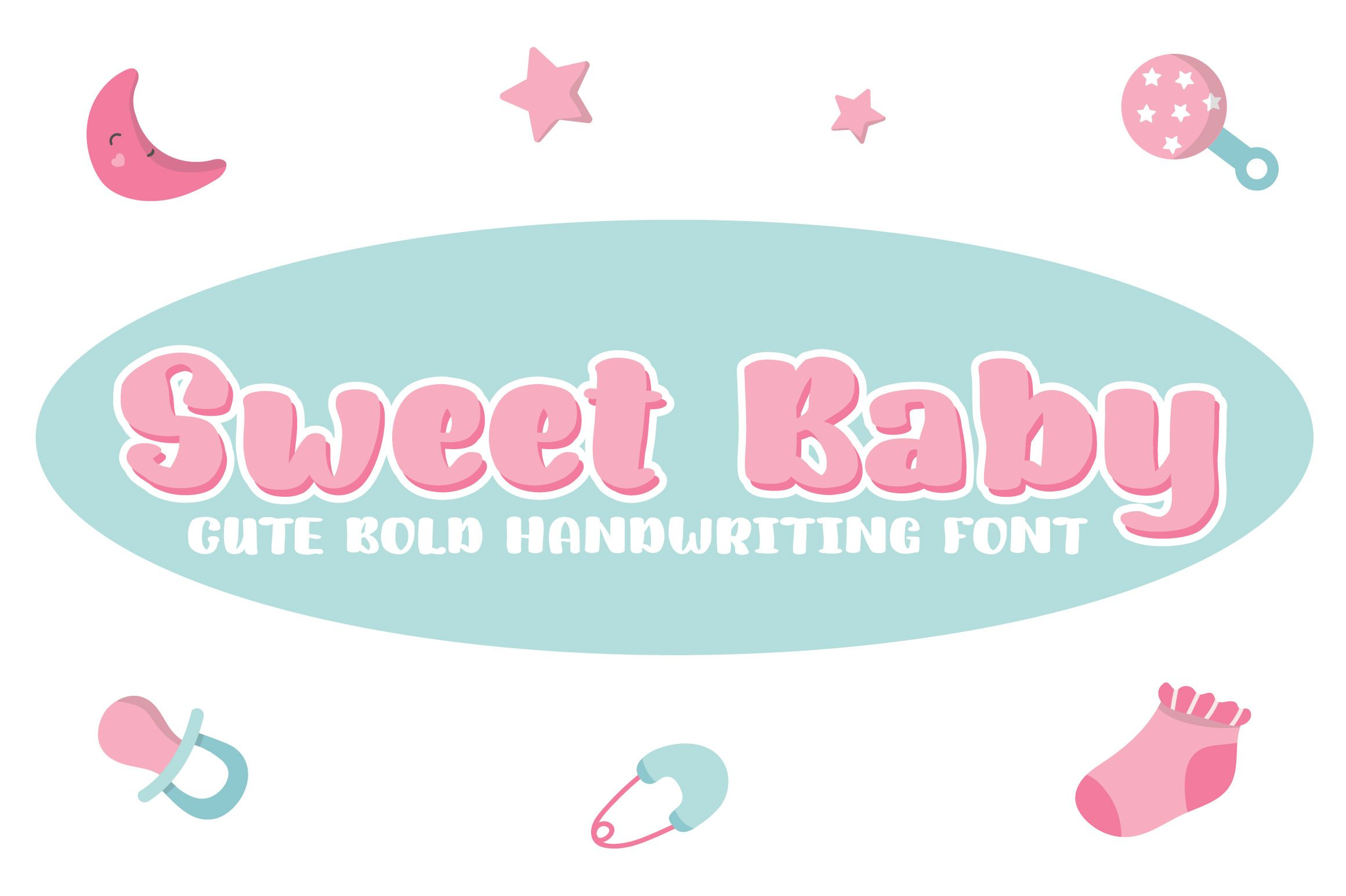 Sweet Baby (Font) by Royaltype Handwriting fonts