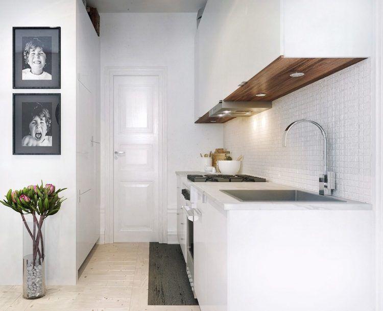 3 Ötletadó Kis Lakás 50M2 Alatt  Üvegfallal Leválasztott Amazing Kitchen Design For Flats Design Ideas