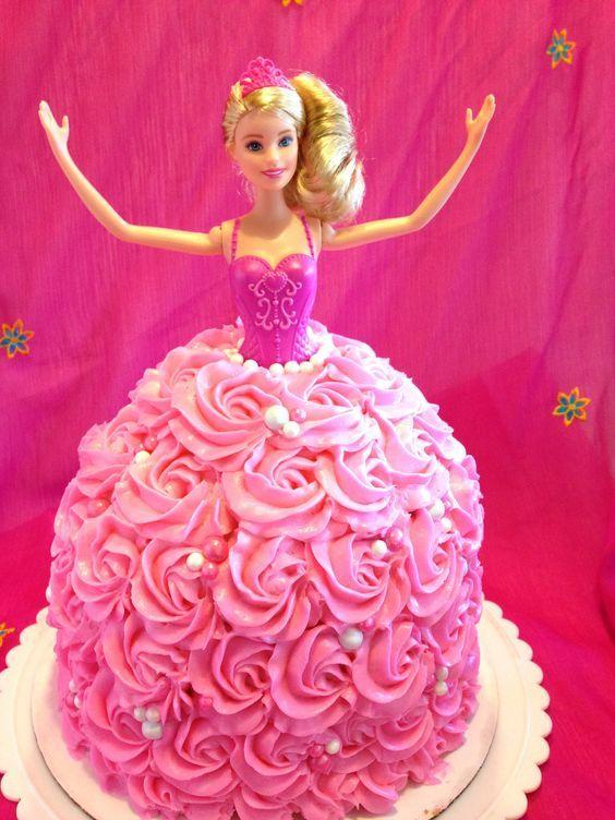 Barbie Cake How To Cake Birthdays And Birthday Cakes