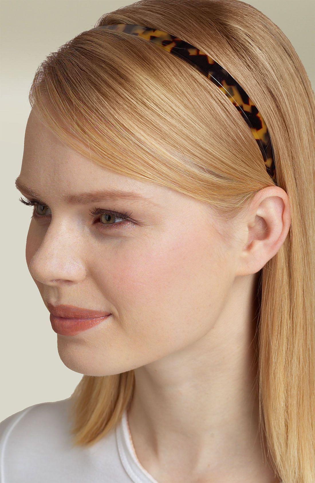 Skinny headband interview hair pinterest skinny headbands