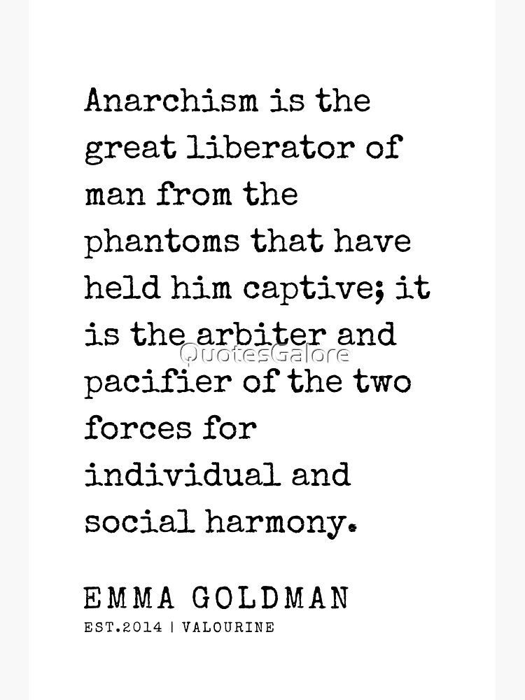 28  | Emma Goldman Quotes | 200607 | The Great Feminist Sticker by QuotesGalore