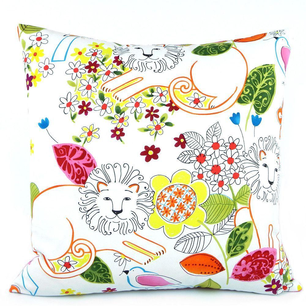 Hear Me Roar Reversible Pillow