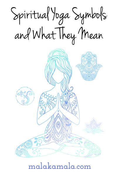 Spiritual Yoga Symbols And What They Mean Pinterest Hamsa Hand