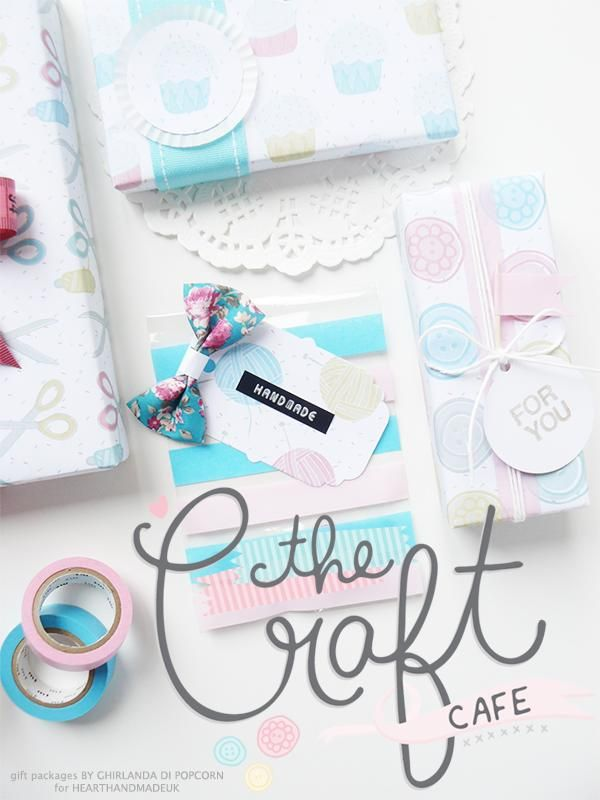 gift packages with the craft cafè cliparts 1 1 Pretty Packages and Free Printables