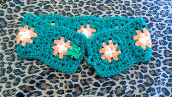 St Patricks Day accessory Irish crocheted belt by JaminaRose