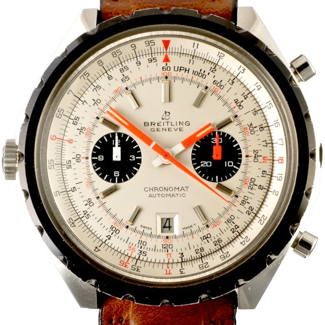 1968 Breitling Navitimer ref. 1808 115257/67 rare white dial by Timeline Watch