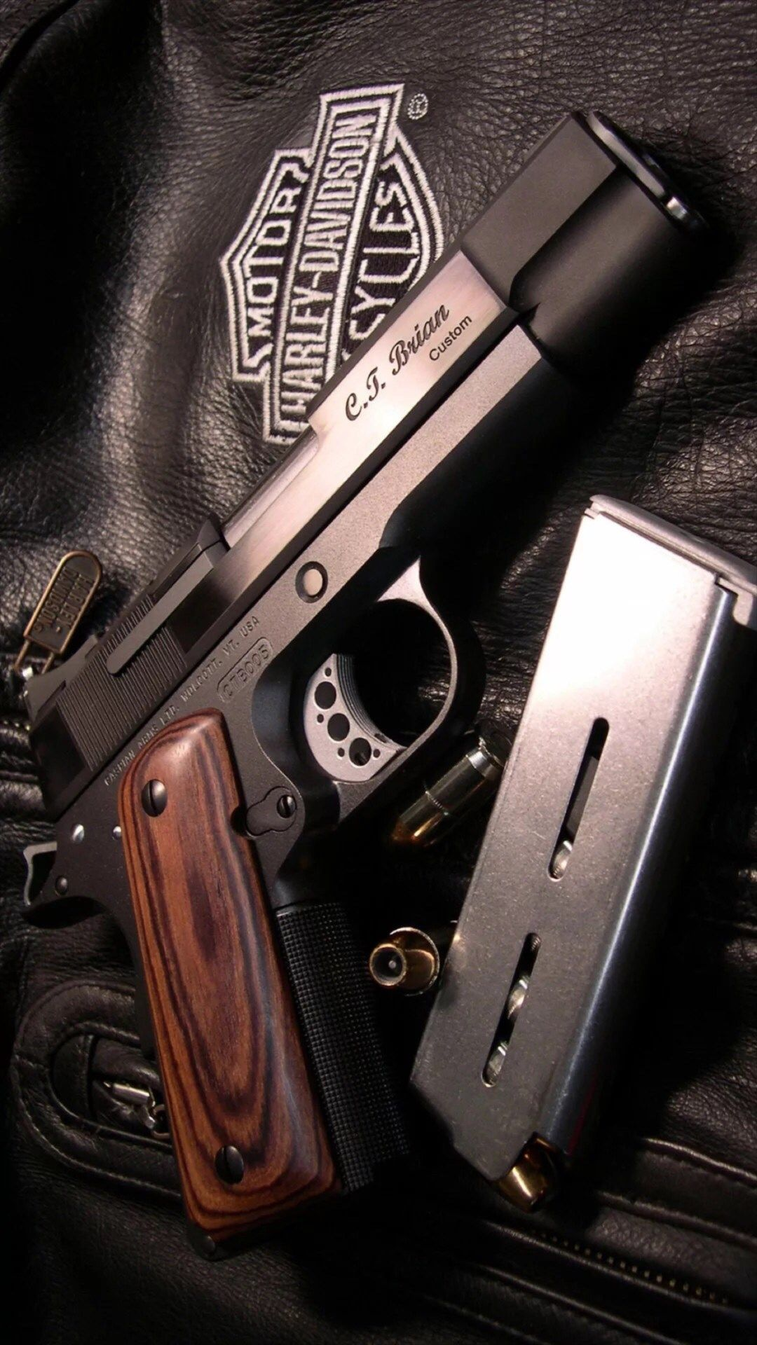 Military Weapon Gun Leather Clothing IPhone 6 Wallpaper