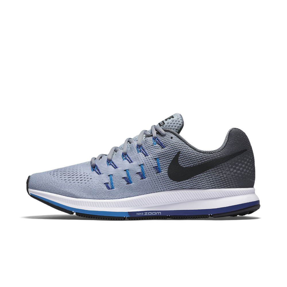 the latest 86f10 f3f29 Nike Air Zoom Pegasus 33 Men's Running Shoe Size 10.5 (Grey ...