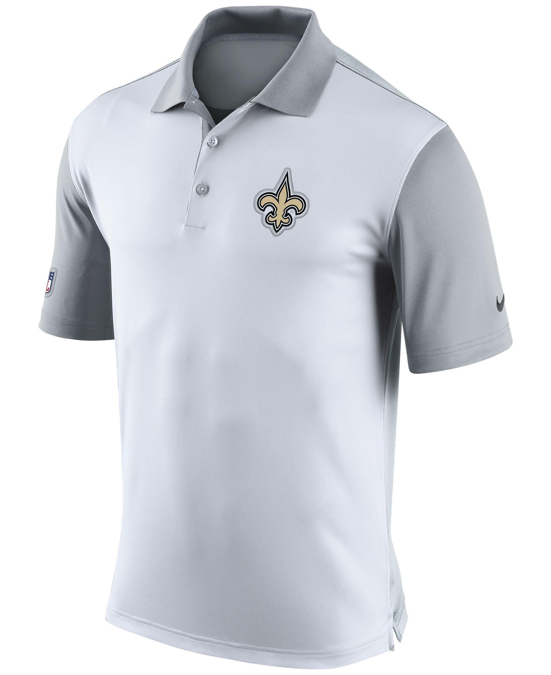 cf5dd3c4168 Nike Men s New Orleans Saints Preseason Polo
