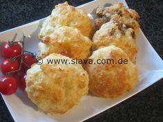 Softe Ruckzuck Käsetaler-Brötchen « kochen & backen leicht gemacht mit Schritt für Schritt Bilder von & mit Slava