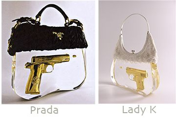 designer gun  designer  prada  fashion  purse  gun  unique  accessories   style  clear  highfashion 9bcb7acff1557
