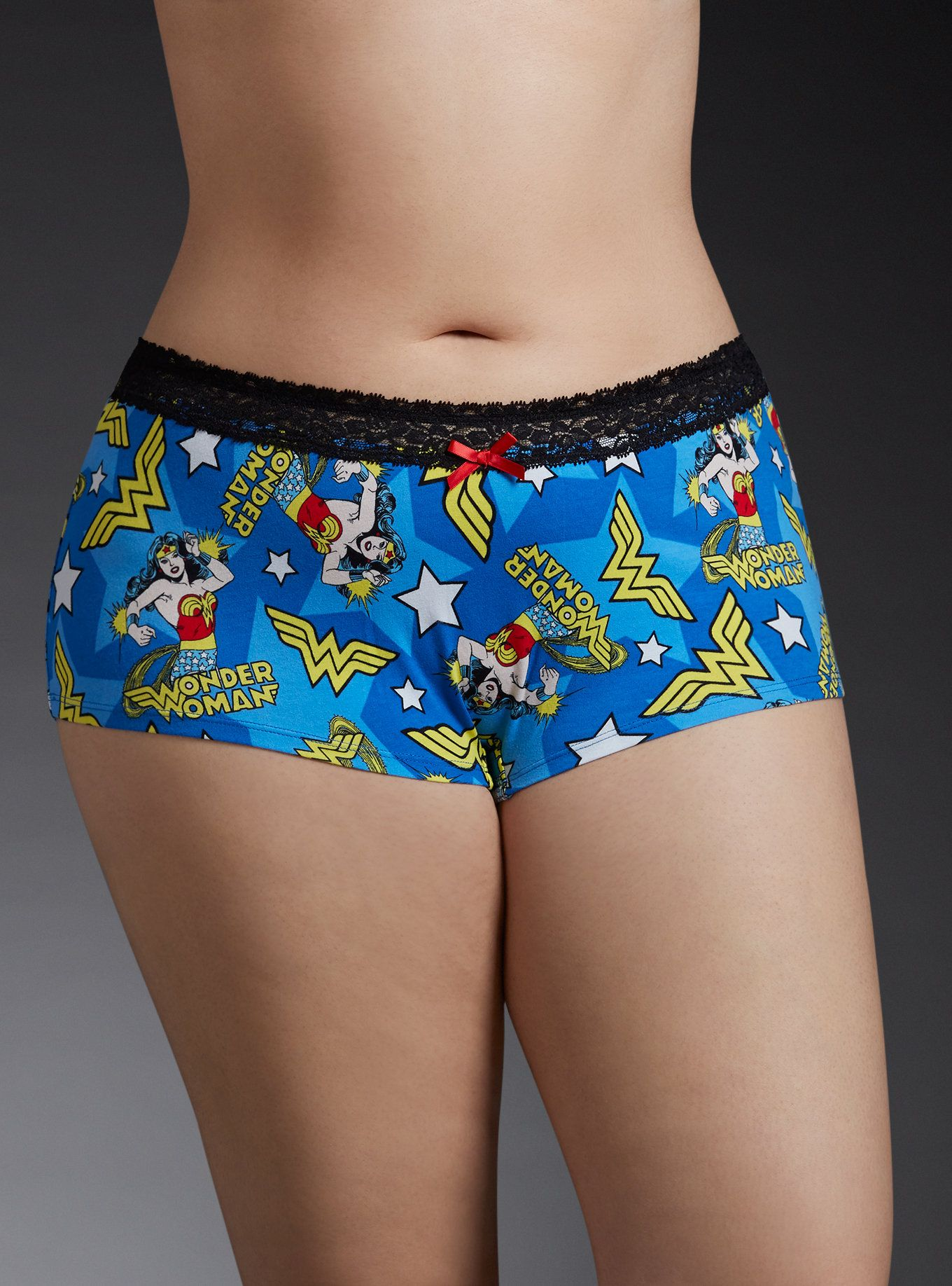 c9ddc1c7c777 Make a liar tell the truth with these panties. The comic book inspired  print fights