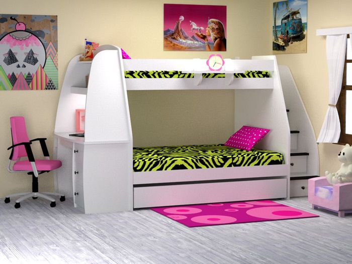 Amazing Girls Bunk Beds With Slide   If You Are A Girl, You Need To Do