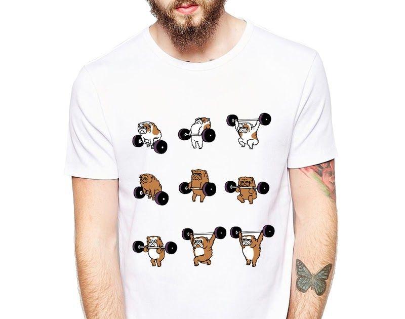 c6d5e2c7ac Free shipping New Arrival Funny Animals T-Shirt Men's Flamingo/English  Bulldog/Cat T Shirts Casual Fitness Short Sleeve Tops Tee