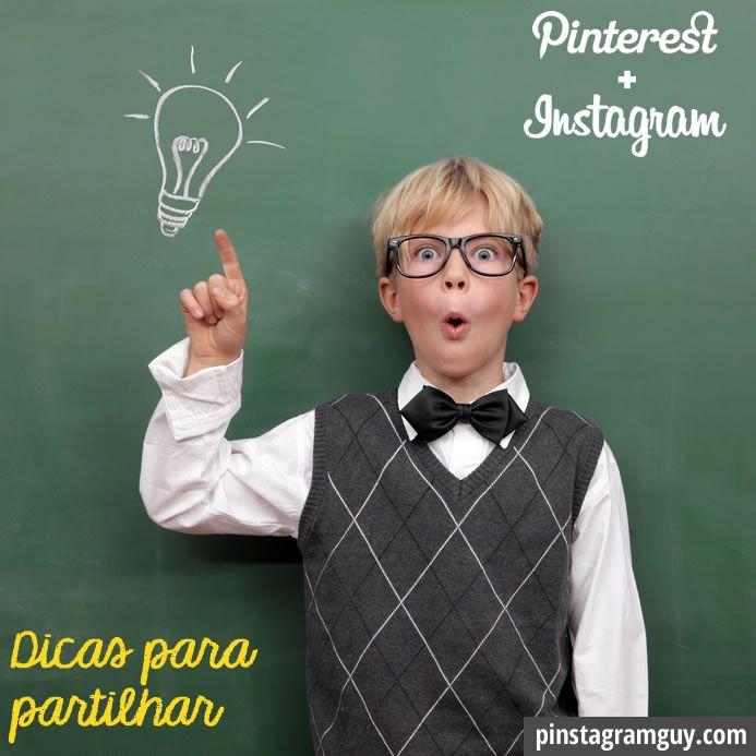 Todas as semanas 5 dicas rápidas para partilhar sobre Pinterest e Instagram. CLICA PARA VERES AS DICAS #pinstadica via @Pinstagram Guy