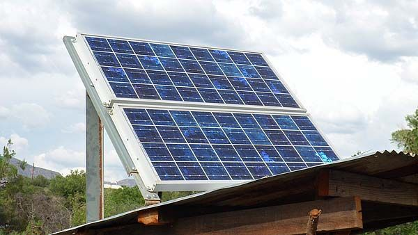 Scaled Solar For The Tiny House Off Grid On The Cheap Diy Solar Panel Solar Panels Cheap Solar Panels