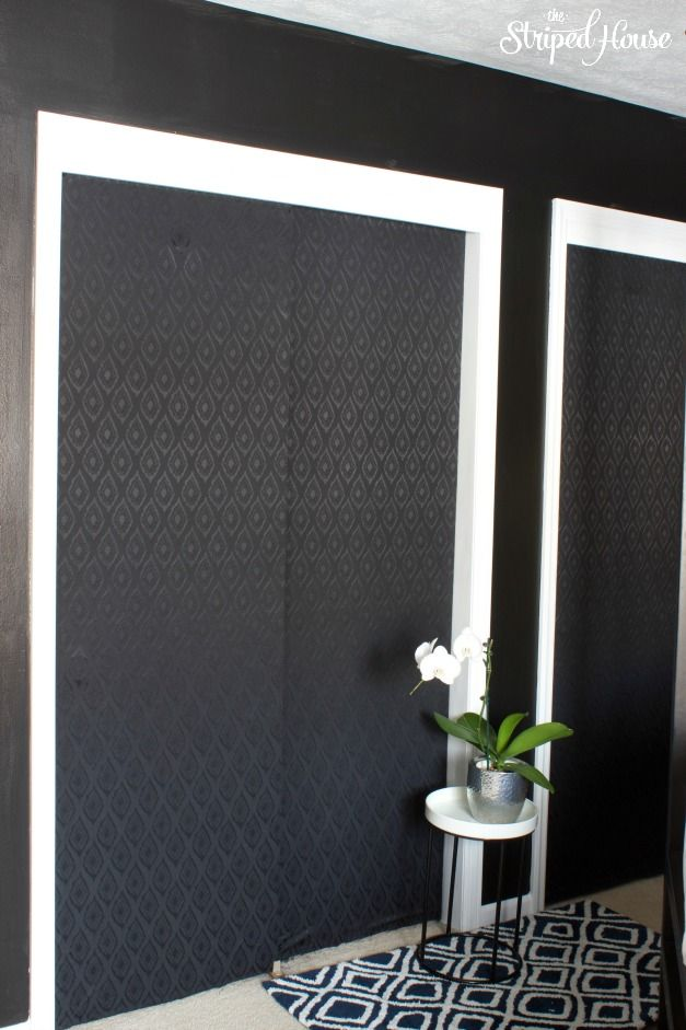 Diy Mirror Closet Doors Makeover
