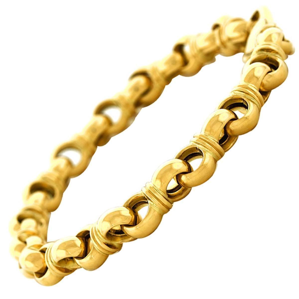 Tannler heavy gold bracelet pinterest