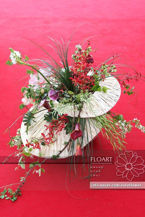 Artist and designer Jade Hwang, designer at Floart florist ...