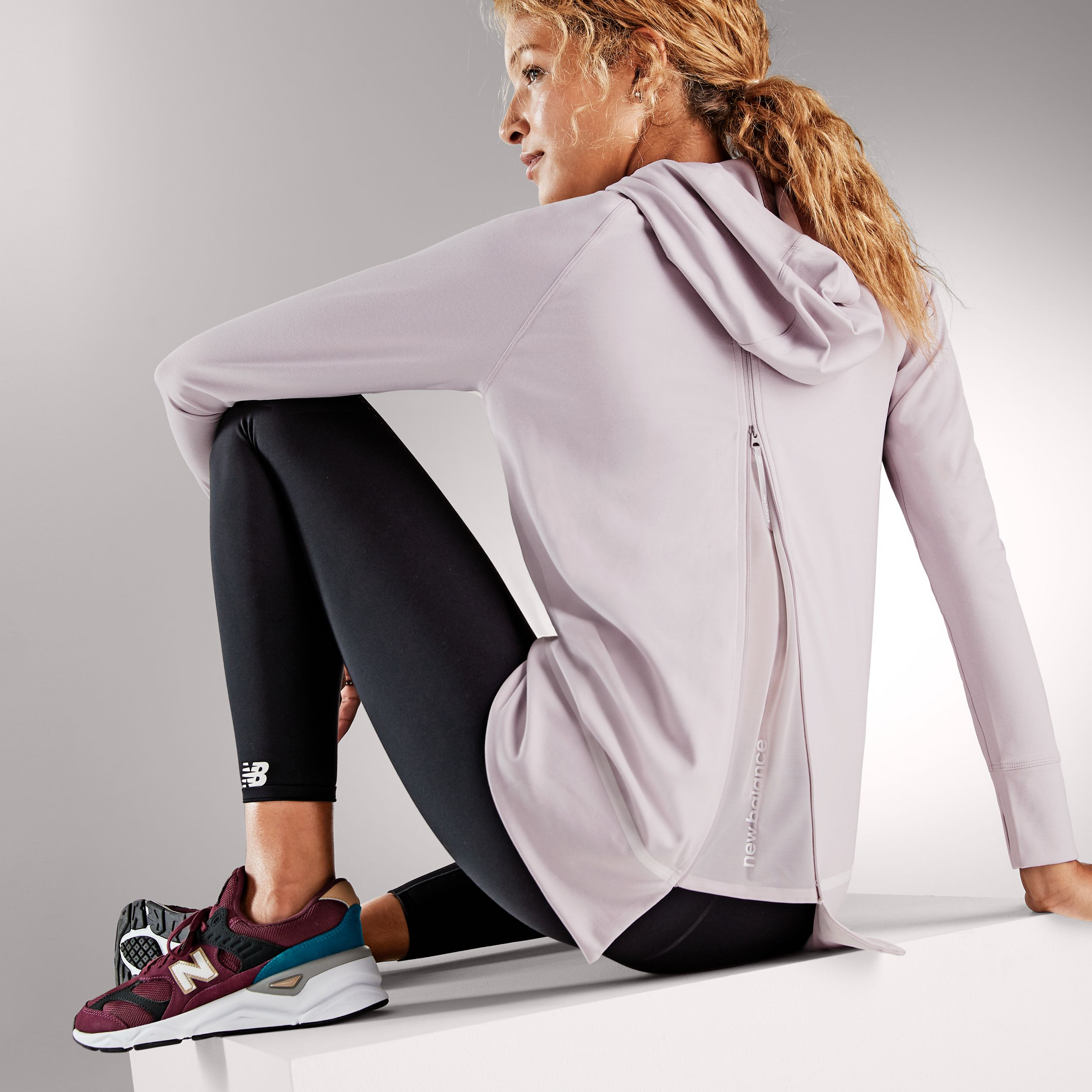 New Balance Women S Sport Style Select Pullover Hoodie Hoodies Womens Pullover Women Pullover Sport Fashion [ 2500 x 2500 Pixel ]