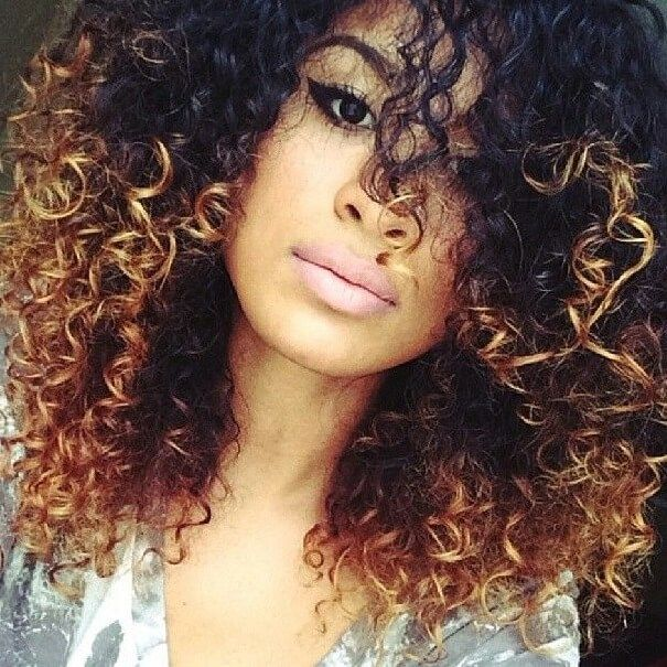 Hair Color Ideas For Curly Hair As The Amazing Curly Cool Ideas
