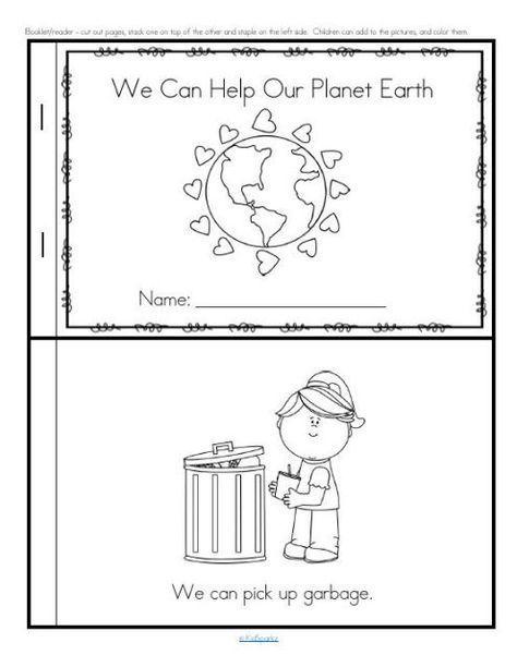 Earth Day activities for preschool, pre-K and Kindergarten ...