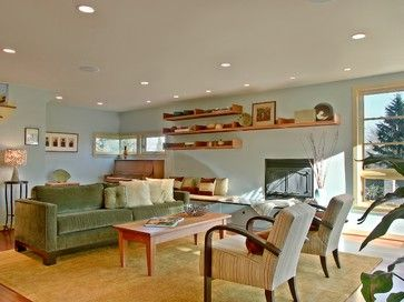 Contemporary Living Room By David Neiman Architects Via Houzz Love The  Color Scheme, Natural Light, And Open Feeling.