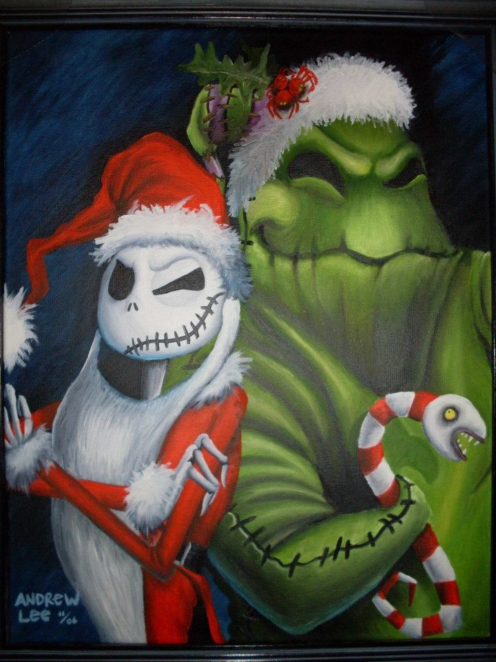 Pin By April Yallum On Obsession Nightmare Before Christmas Christmas Artwork Nightmare Before Christmas Movie Nightmare Before Christmas