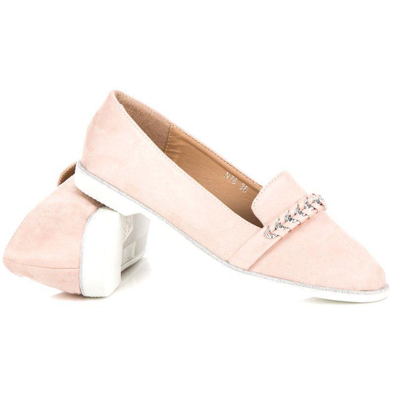 Bestelle Rozowe Buty Na Wiosne Mule Shoe Loafers Shoes