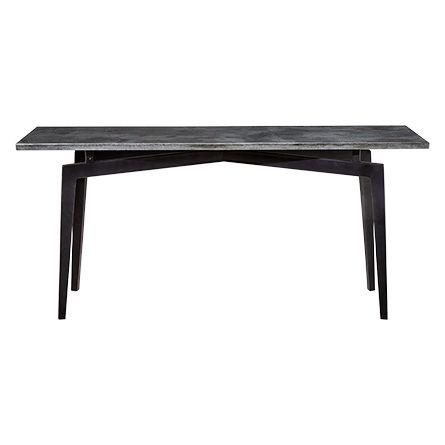 shaw 65 rectangle console table with bluestone top arhaus rh pinterest com