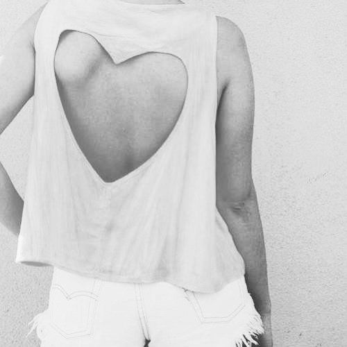 heart cut out back