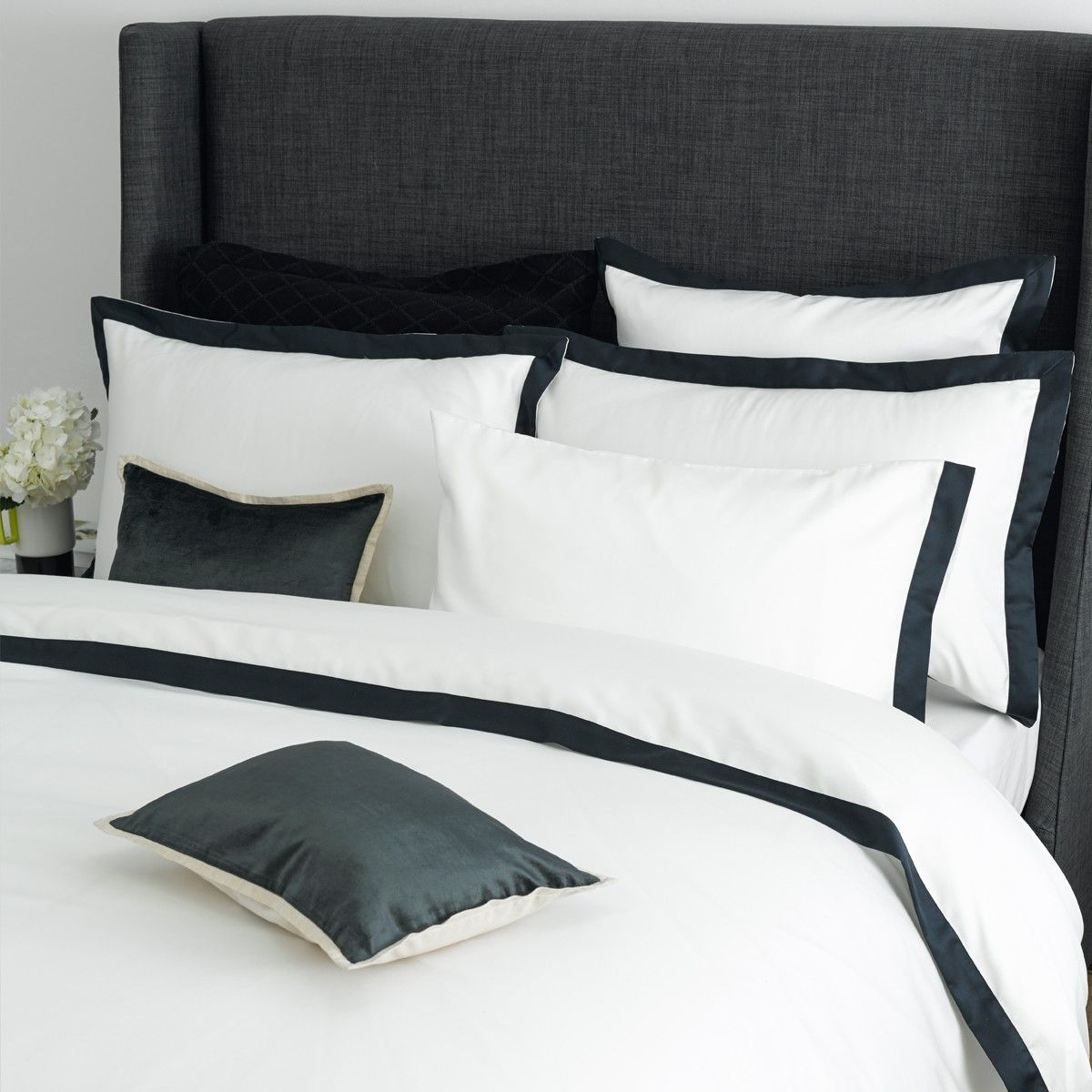 Christy Mode Bed Linen Midnight Christy Bed, Linen