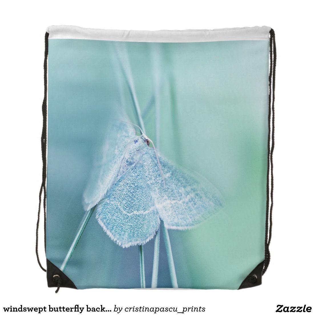 windswept Schmetterlingsrucksack Sportbeutel