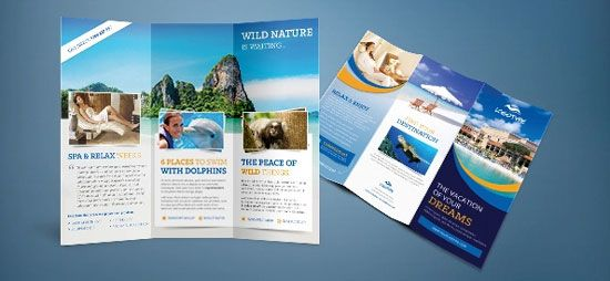 Free Travel Agent Brochure Photoshop  Beraksi    Free